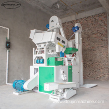 High grade components rice mill machine
